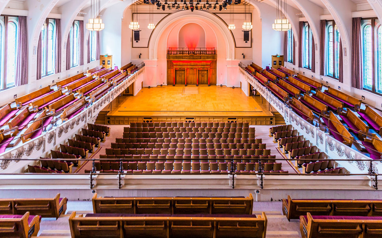 Cadogan Hall auditorium