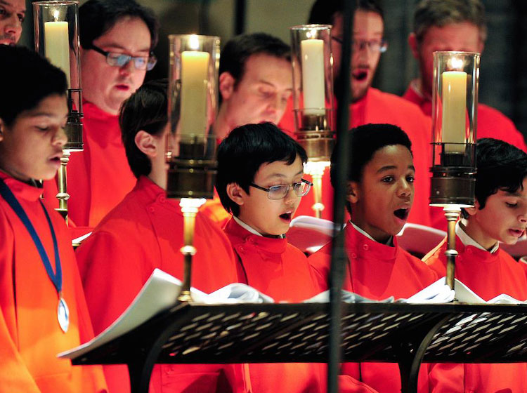 The Temple Church Choir