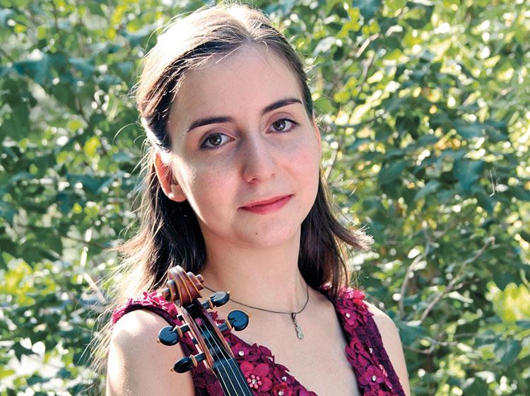 Diana Adamyan, violin