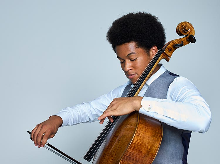 Sheku Kanneh-Mason, cello