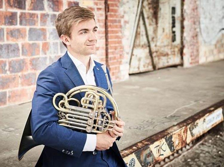 Ben Goldscheider, horn