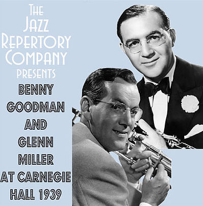 Benny Goodman and Glenn Miller at Carnegie Hall 1939