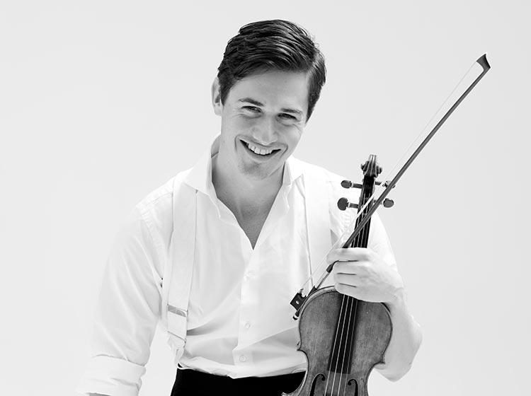 Charlie Siem, violin