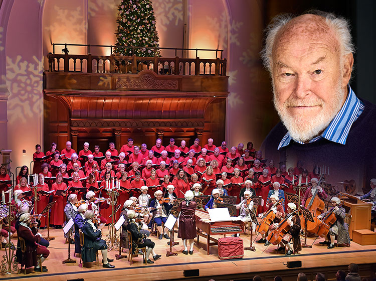 Carols by Candlelight with Timothy West, special guest reader