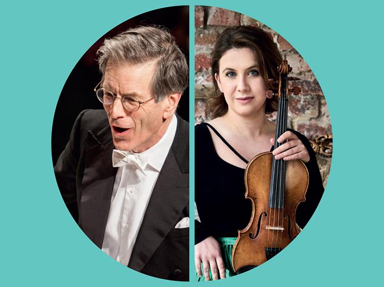 Chloë Hanslip, violin & Hilary Davan Wetton, conductor