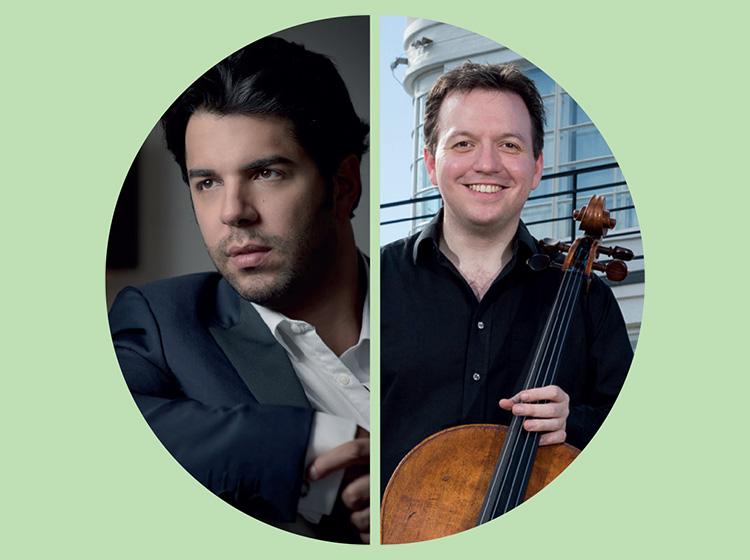 Domingo Hindoyan, conductor & Richard Harwood, cello