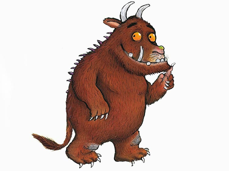 The Gruffalo © Julia Donaldson and Axel Scheffler 1999. Published by Macmillan Children's Books