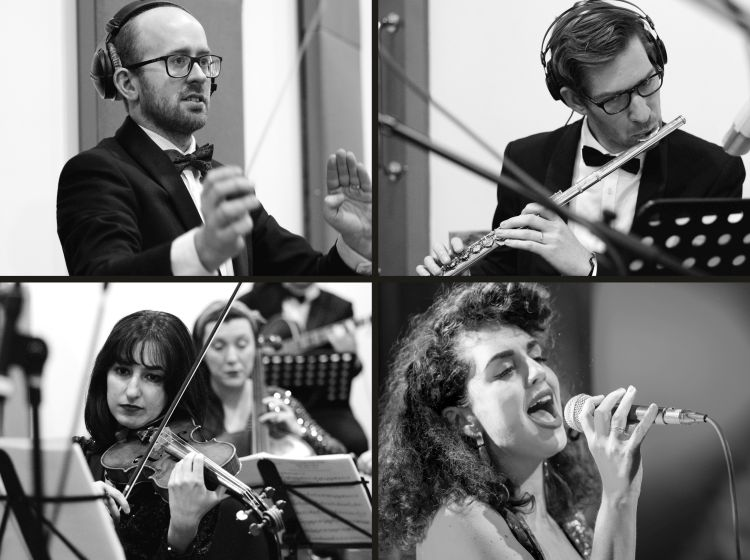 A conductor, a flautist, a singer and a violinist.