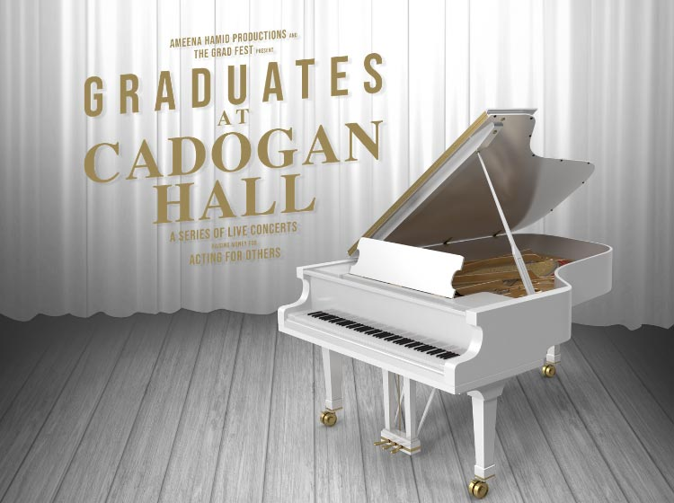 Graduates at Cadogan Hall Series
