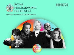 Royal Philharmonic Orchestra autumn 2021 series
