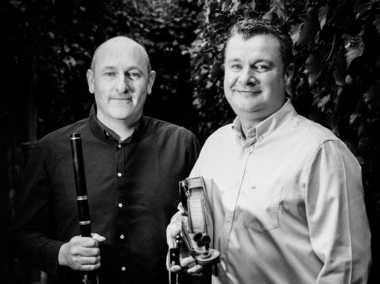 Mike McGoldrick (flute/pipes) and Dezi Donnelly (fiddle) - Irish Night at Cadogan Hall