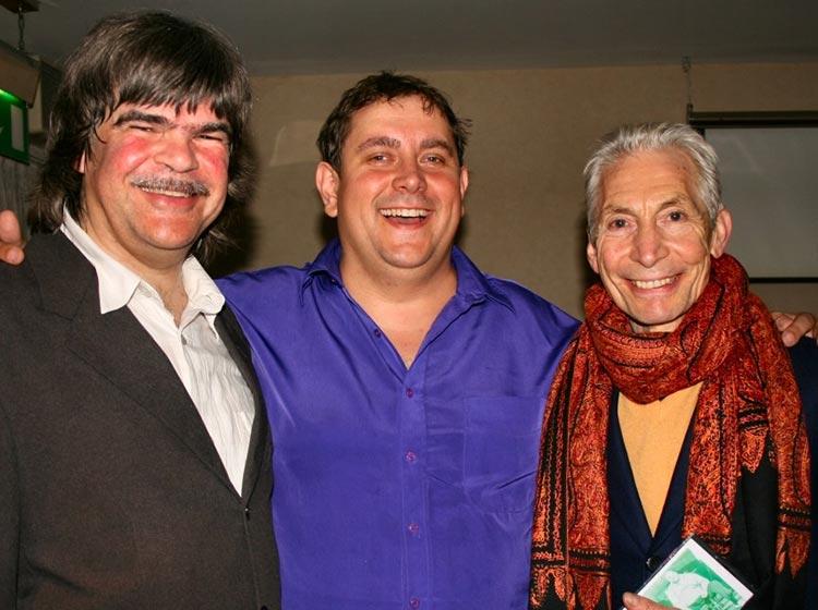 Axel Zwingenberger, Ben Waters & Charlie Watts