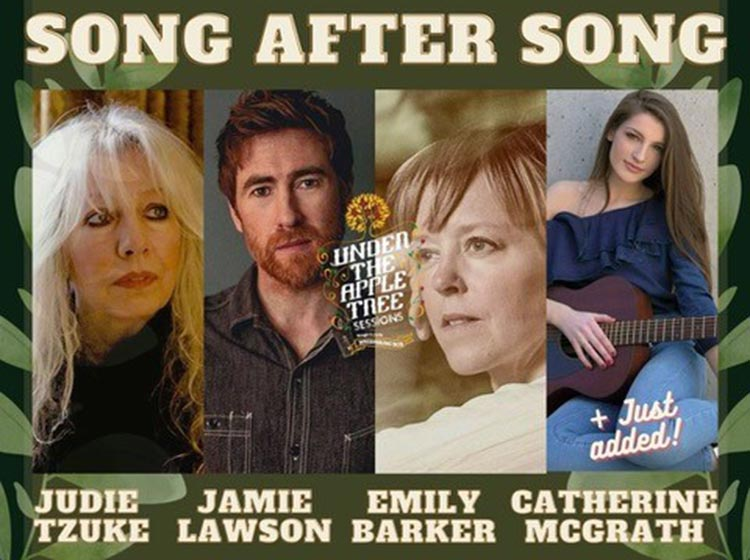 Song After Song with Judie Tzuke, Jamie Lawson, Emily Barker & Catherine McGrath
