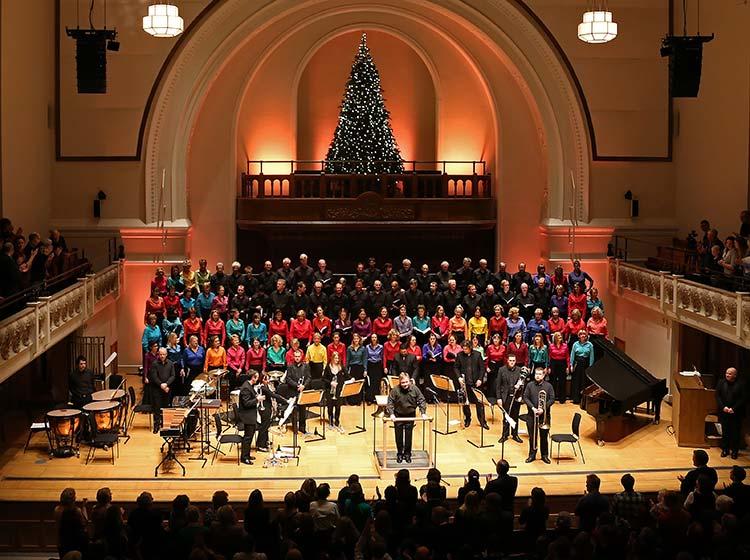 The Bach Choir & London City Brass - Carols at Cadogan