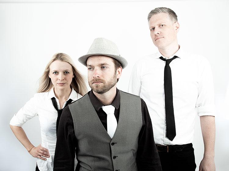 Wild Card Trio - Clement Regert (guitar), Sophie Alloway (drums), & Andrew Noble (Hammond organ)