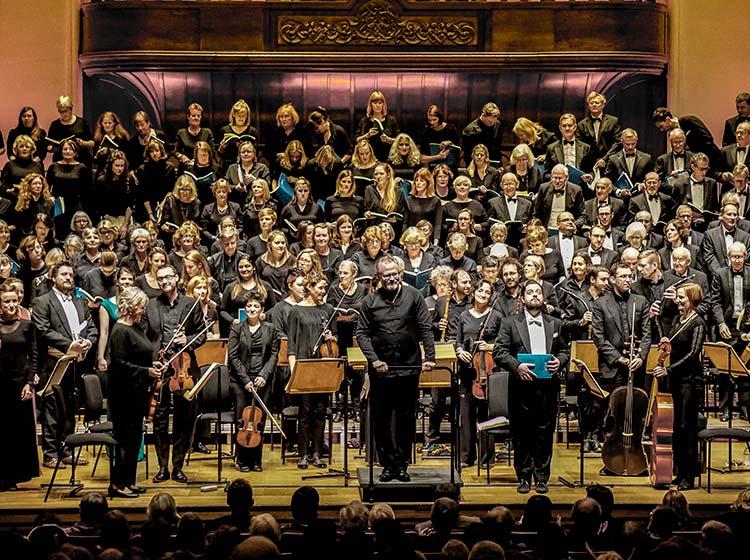 Barts Choir & conductor Ivor Setterfield
