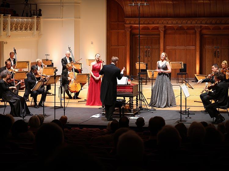 The English Chamber Orchestra performing at Cadogan Hall