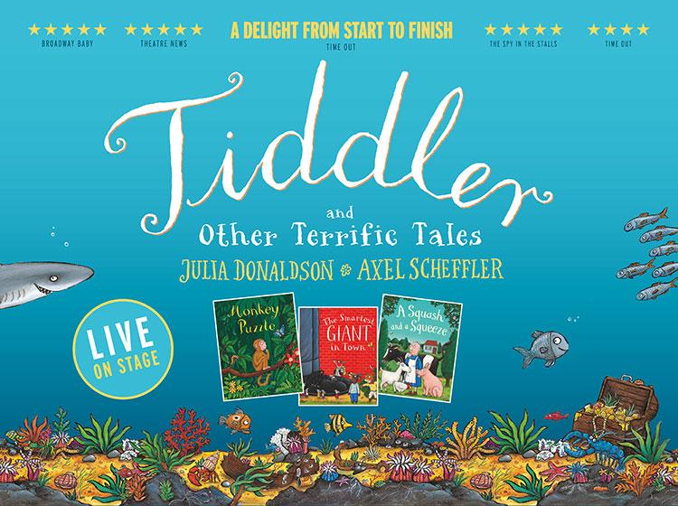 Tiddler © Julia Donaldson and Axel Scheffler
