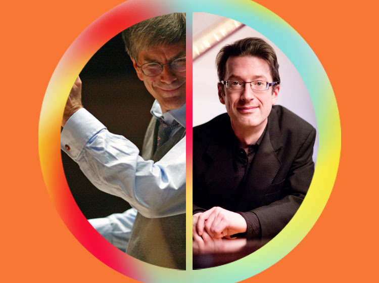 Hilary Davan Wetton, conductor & Llŷr Williams, piano