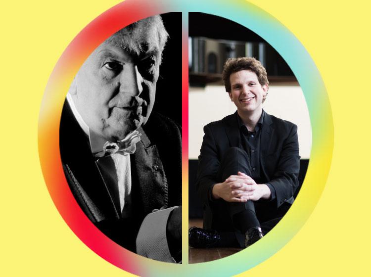 Owain Arwel Hughes, conductor & Jayson Gillham, piano