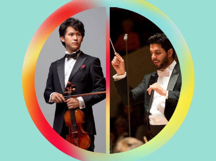 Fumiaki Miura, violin & Domingo Hindoyan, conductor