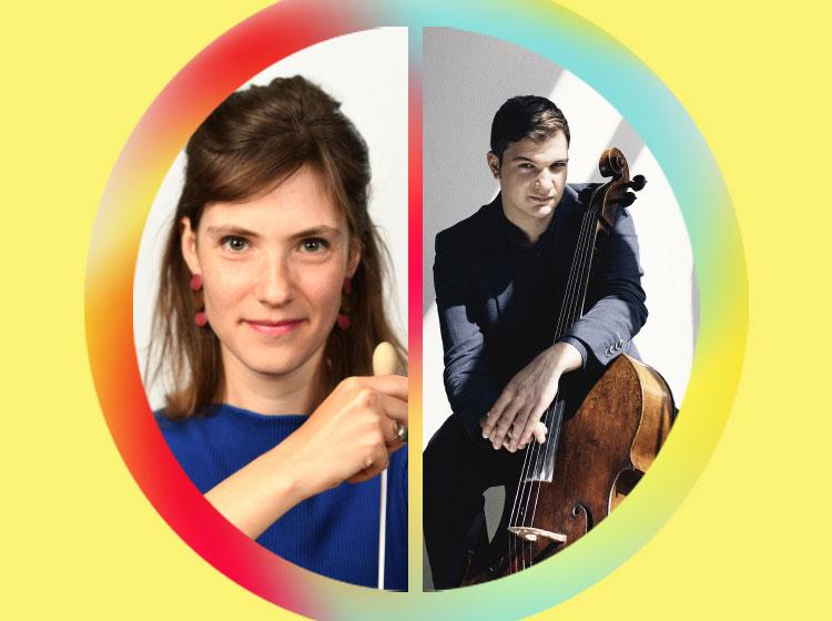Chloé van Soeterstède, conductor & Andrei Ionita, cello