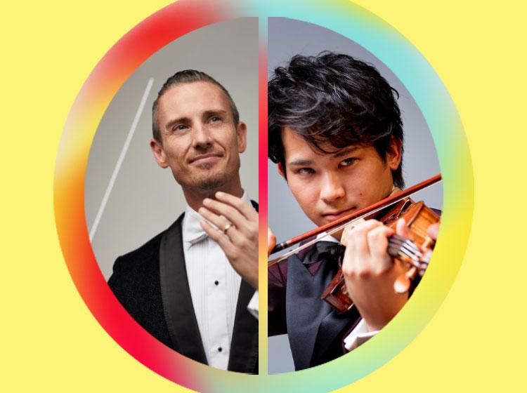 Alexander Shelley, conductor & Fumiaki Miura, violin