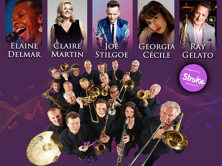 BBC Big Band with Joe Stilgoe, Claire Martin, Georgia Cécile, Ray Gelato and Elaine Delmar